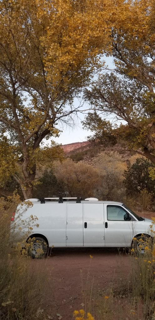 Camping in BLM land outside Zion National Park