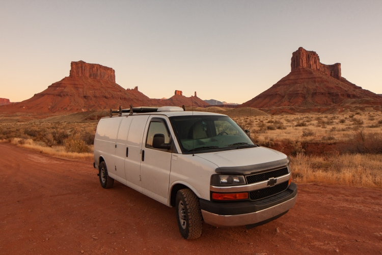 Chevy Express Campervan in Moab, UT