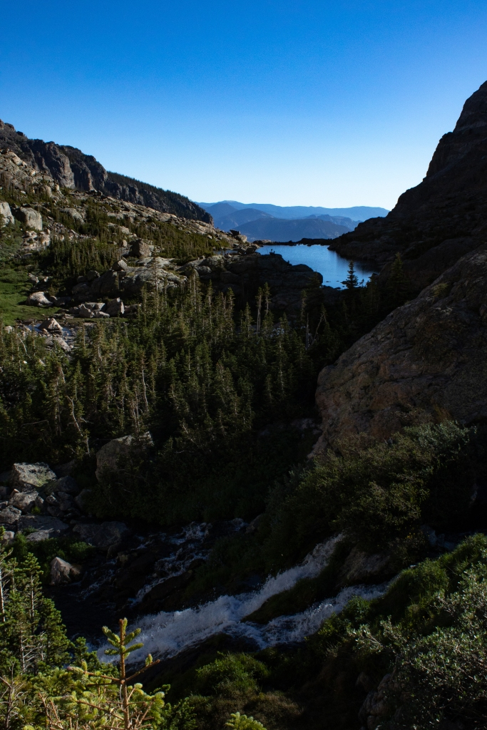 View of the Loch in Rocky Mountain National Park