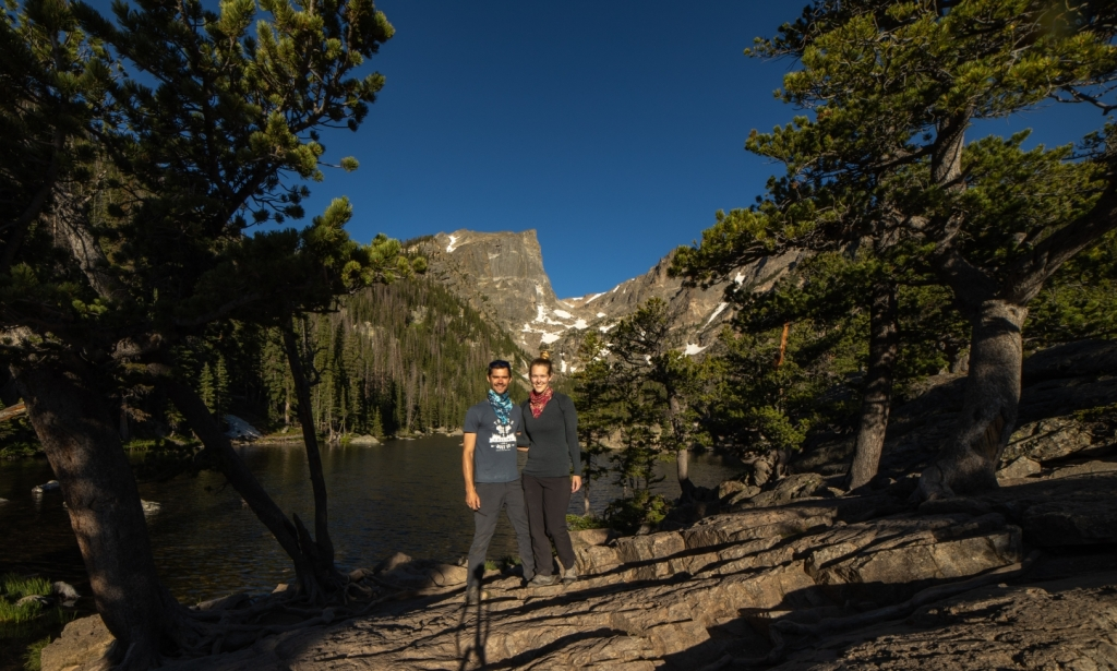 Dream Lake at Rocky Mountain National Park