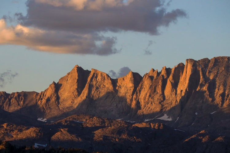 Sacred Rim Wind River Range Wyoming