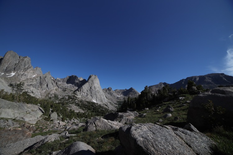 The Cirque of the Towers Wind River Range Wyoming