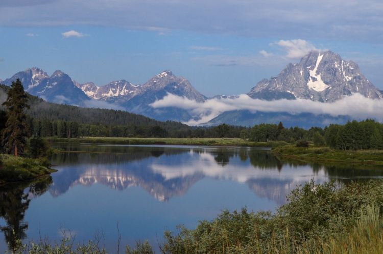 Oxbow Bend Grand Tetons Wyoming
