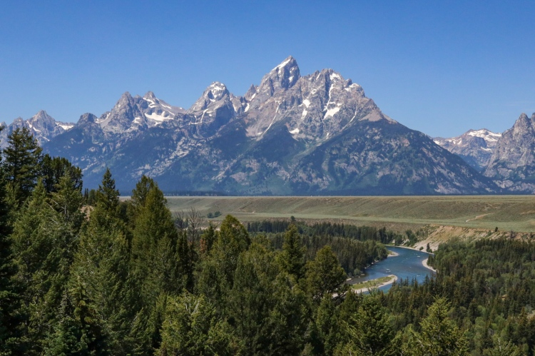 Snake River Overlook Grand Tetons Wyoming