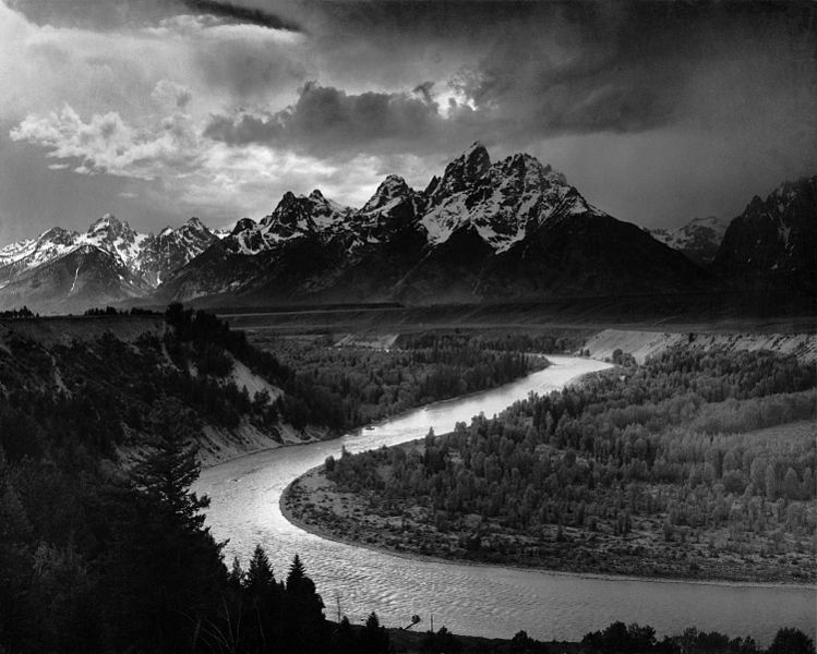 Ansel Adams famous photograph