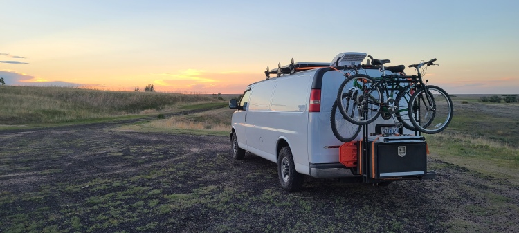 Campervan boondocking